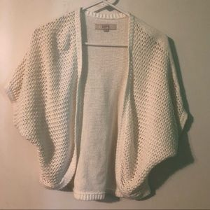 Loft shrug knitted cardigan